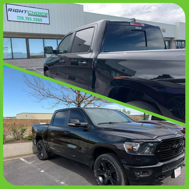 Truck Window Tinting in Colorado